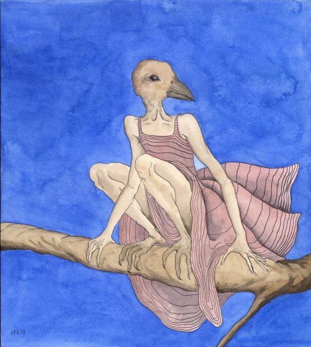 1. Birdwoman, VIII (Blue)